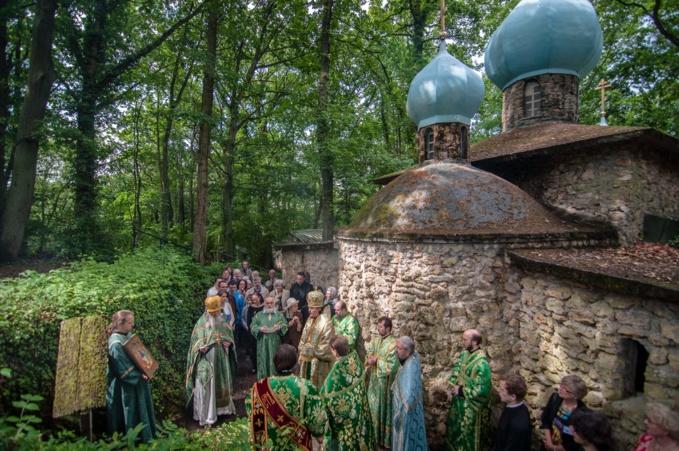 Fête patronale de l'ermitage du Saint-Esprit au Mesnil-Saint-Denis