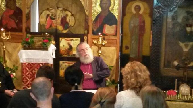 Conférence de M. Jean-Claude Larchet à l'église Sainte-Trinité de Vanves