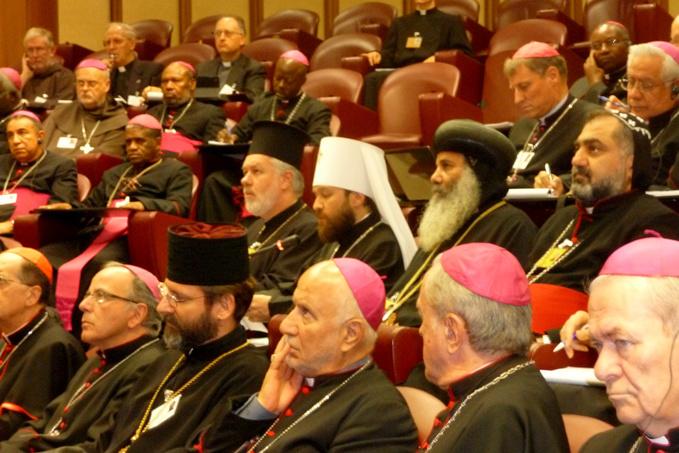 Le métropolite Hilarion est intervenu au Synode des évêques catholiques à Rome
