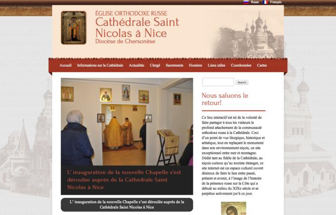 Nouveau site internet pour l'église Saint-Nicolas à Nice