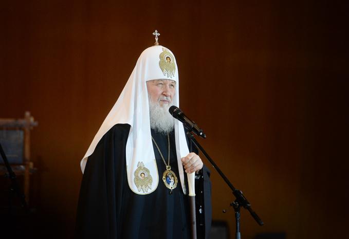 Voeux de Pâques du patriarche Cyrille de Moscou aux primats des Églises chrétiennes