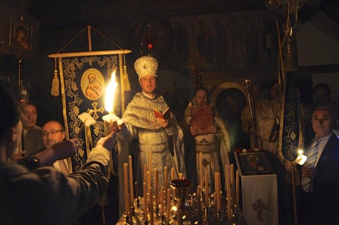 Pâques au monastère Sainte-Trinité de Dompierre en Suisse