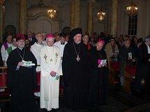 L'archevêque Simon a participé à la veillée oecuménique dans le cadre de la Semaine de prière pour l'unité