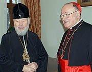 Le métropolite Vladimir de Kiev a reçu le cardinal Martino