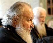 Le métropolite Cyrille a reçu la délégation de l'Eglise russe hors frontières