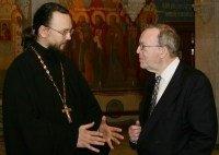 Le président du Parti populaire européen a visité l'académie de théologie de Moscou