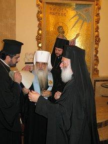 Le métropolite Philarète de Minsk s'est rendu en Egypte