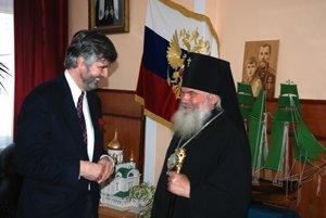 L'ambassadeur de France en Russie a rendu visite à l'archevêque de Vladivostok