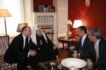Le patriarche Alexis s'est rendu à l'ambassade de Grèce à Moscou