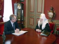 Patriarche Alexis: l'Eglise orthodoxe russe n'exige pas la restitution des biens religieux