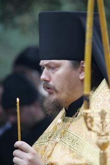Le père Nestor a été élevé au rang d'hégoumène