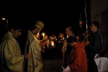 Célébrations pascales au monastère Sainte-Trinité à Dompierre
