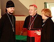Le cardinal Kasper rencontre les étudiants de l'université orthodoxe Saint-Tikhon de Moscou