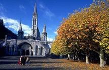 Visite d'une chorale orthodoxe de Russie à Lourdes
