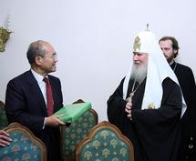 Le patriarche Alexis a reçu le directeur général de l'UNESCO