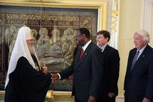Le patriarche Alexis a reçu le secrétaire général de l'Alliance baptiste mondiale