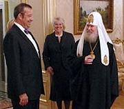 Le patriarche Alexis a reçu le président d'Estonie