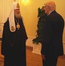 Patriarche Alexis au président italien: 'Les Russes et les Italiens partagent le même héritage chrétien qui remonte aux apôtres'