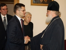 Le métropolite Cyrille a reçu le ministre serbe des affaires étrangères