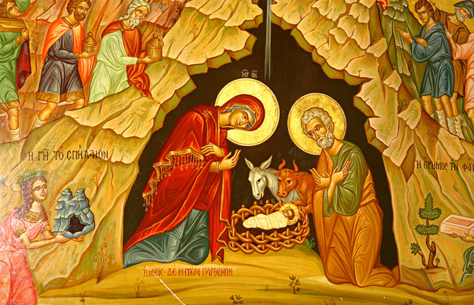 Message de Noël du Monseigneur Nestor, évêque de Chersonèse