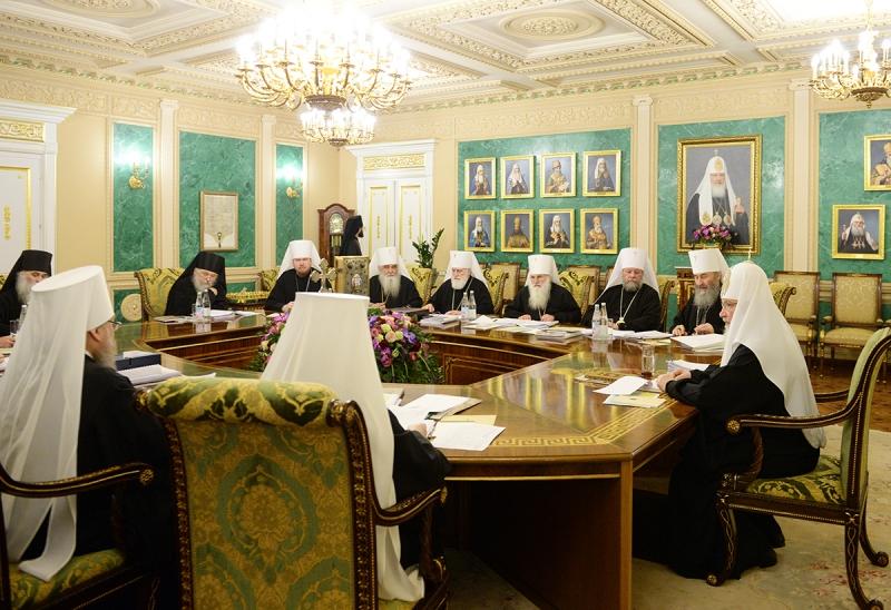 Le Saint Synode de l'Eglise orthodoxe russe a pris deux décisions concernant le diocèse de Chersonèse