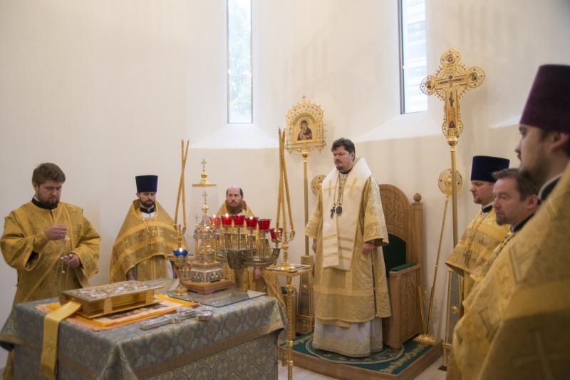 Consécration des antimensions en la cathédrale de la Sainte-Trinité