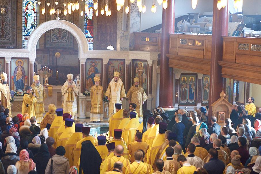 Monseigneur Nestor a pris part dans les festivités organisées à Londres à l'occasion du 55 anniversaire du diocèse de Sourozh