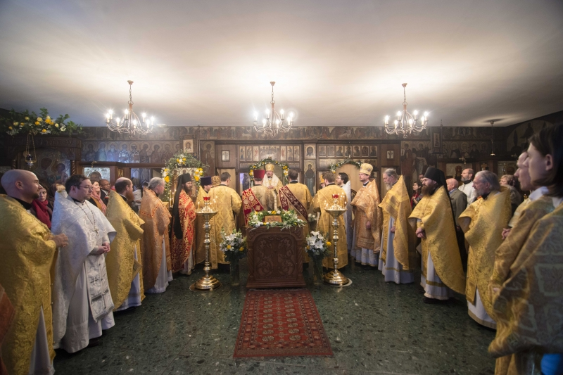 Fête paroissiale de la cathédrale des Trois Saints Hiérarques à Paris