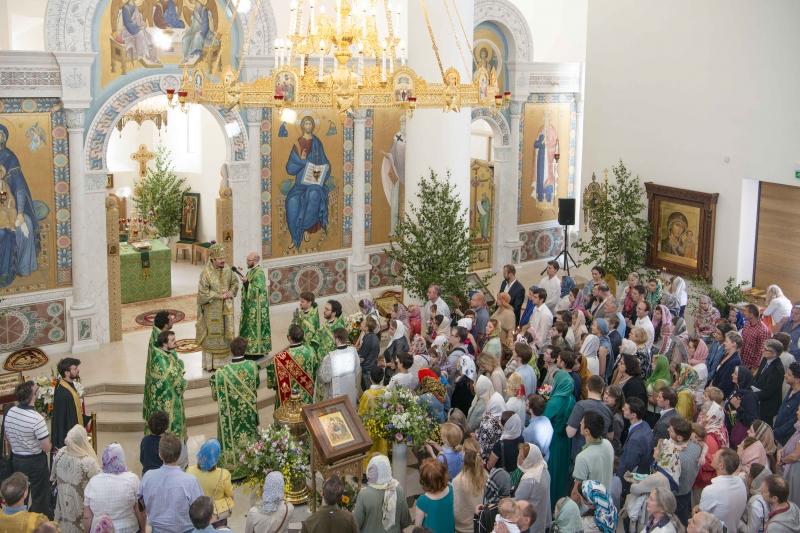 La fête patronale de la cathédrale de la Sainte-Trinité à Paris
