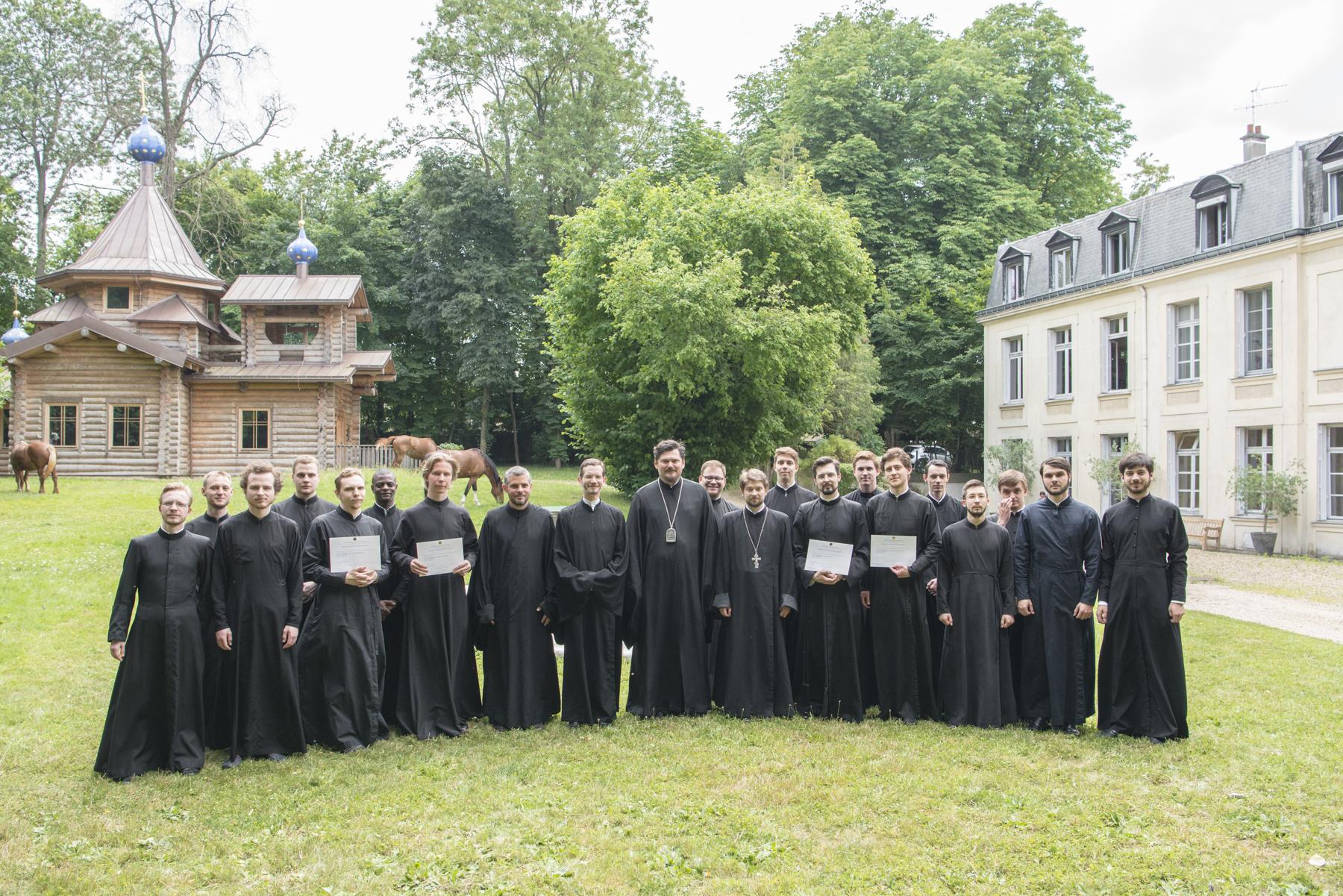 Liturgie de la fin de l'année académique du Séminaire et ordination presbytérale