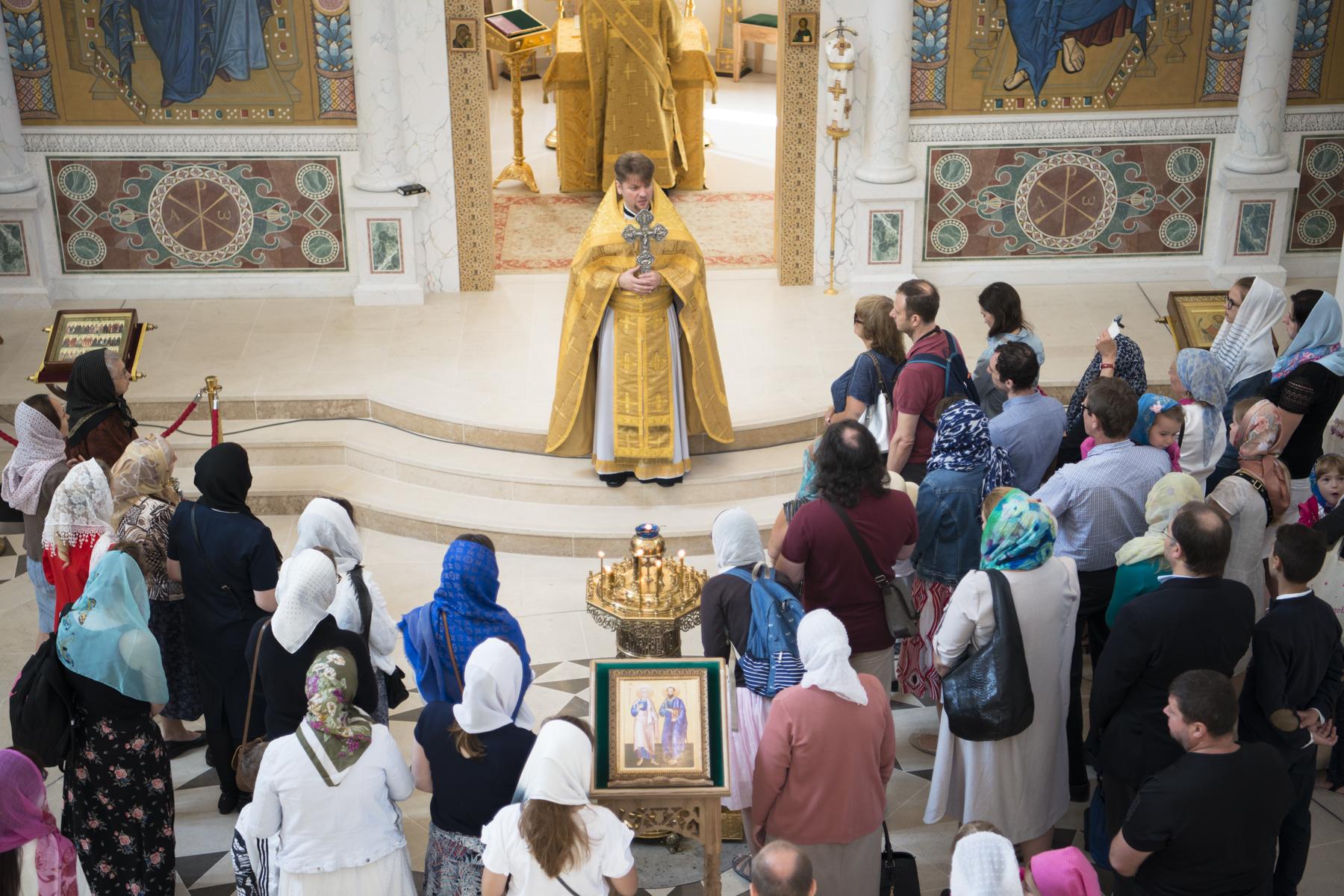 Commémoration des saints apôtres Pierre et Paul