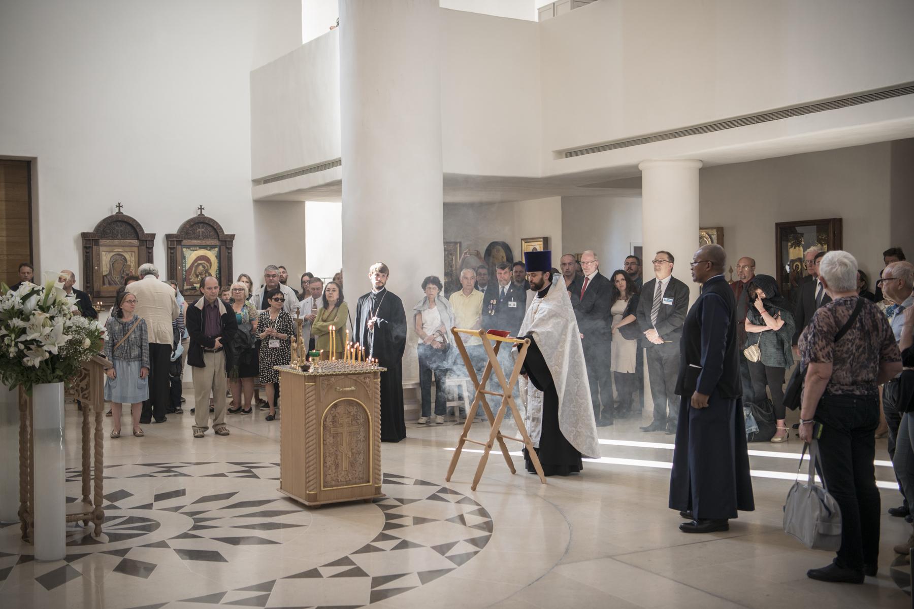 Pannichyde en mémoire des victimes de l'attentat perpétué à Beslan (Ossétie du Nord)