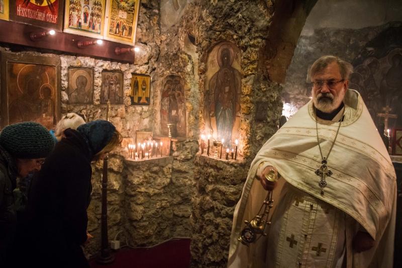 50ème anniversaire du rappel à Dieu de l'iconographe le père Grégoire (Kroug)