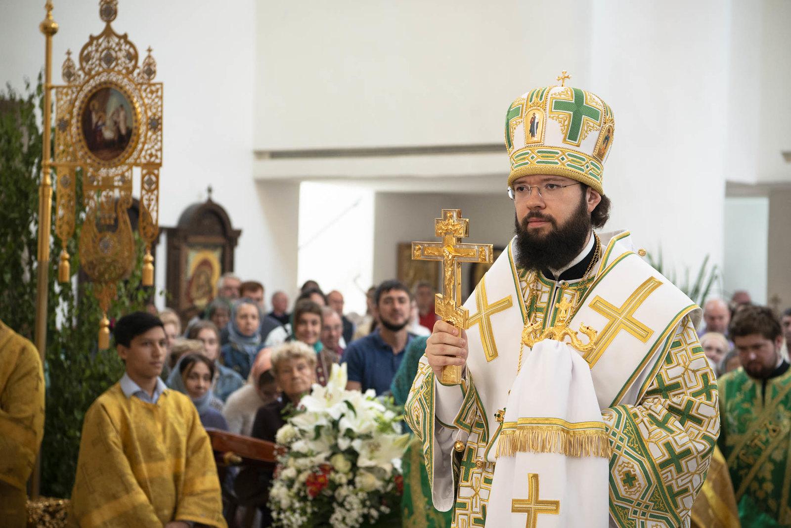 Annonce des célébrations du Mgr Antoine, le métropolite de Chersonèse et d'Europe Occidentale à Paris (29-30 juin)