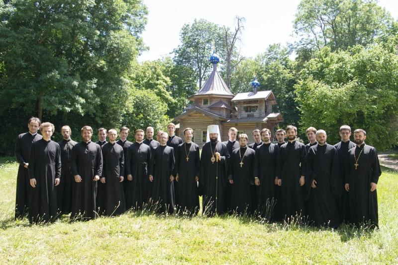 La fin de la dixième année académique du Séminaire orthodoxe russe