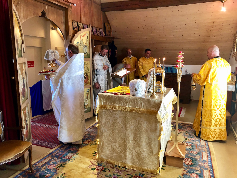 Suisse : fête de la Transfiguration au monastère de Dompierre