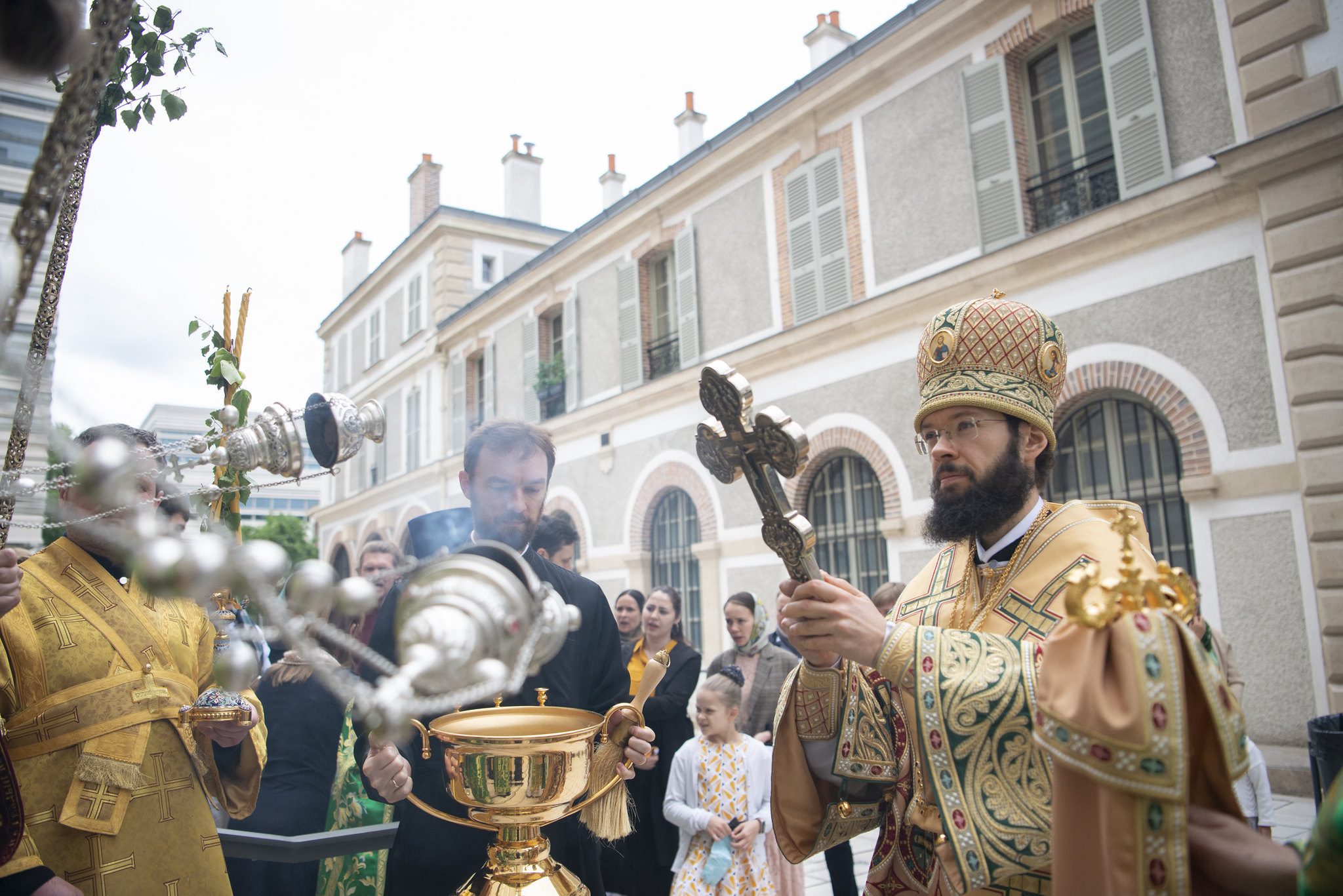 Fête onomastique de la cathédrale de la Sainte Trinité à Paris