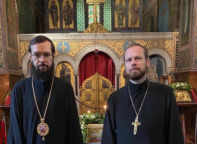 Le métropolite Antoine visite l'église de la Transfiguration à Baden-Baden