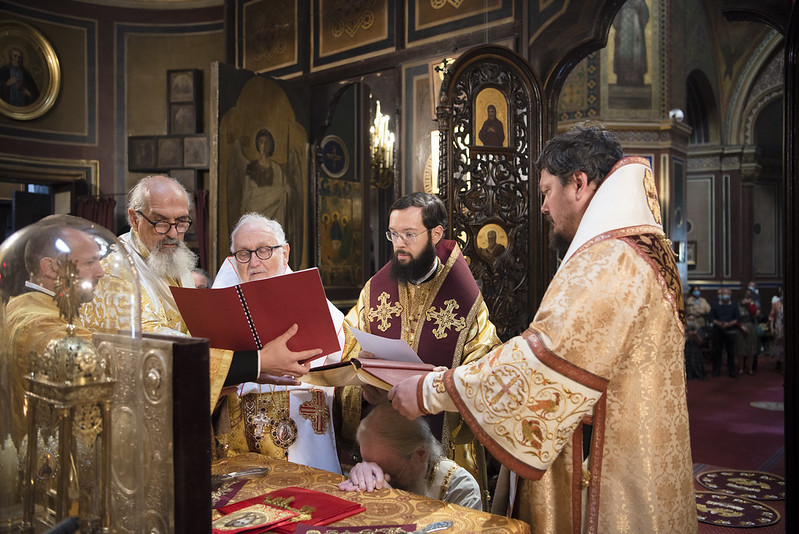 L'ordination épiscopale de l'archimandrite Syméon (Cossec), élu évêque de Domodiédovo