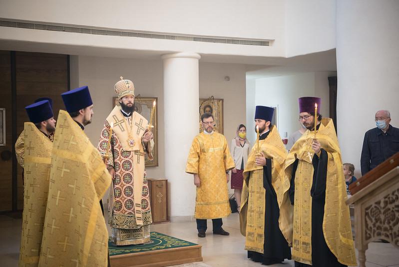 Le métropolite Antoine a célébré les Vigiles du 3eme dimanche après la Pentecôte