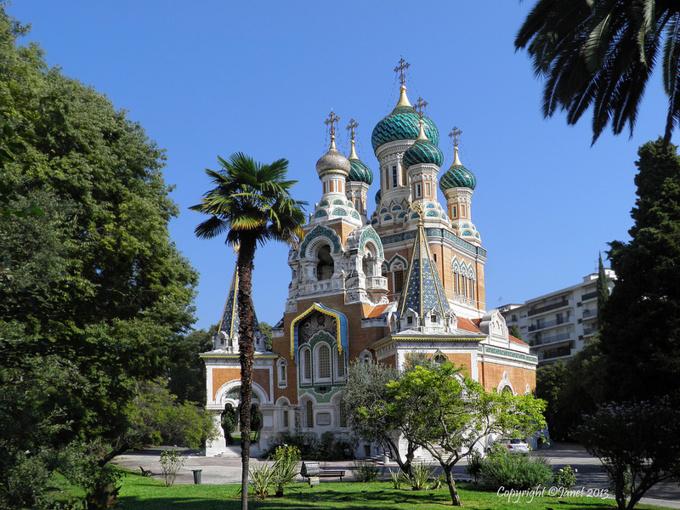 Cathédrale Saint Nicolas à Nice est candidat à devenir le meilleur monument architectural de France