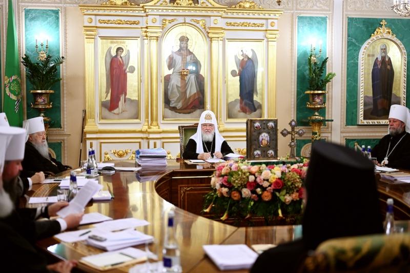 Message du Saint Synode de l'Église orthodoxe russe aux évêques, prêtres, moines, moniales et laïcs au sujet de la diffusion de la pandémie de coronavirus