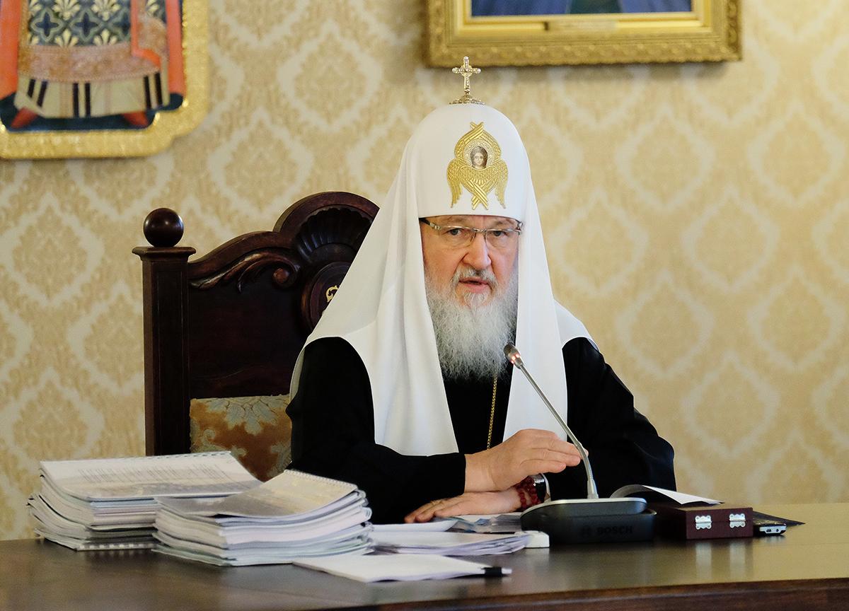 Déclaration du patriarche de Moscou et de toute la Russie Cyrille à propos de la recrudescence des violences en Ukraine