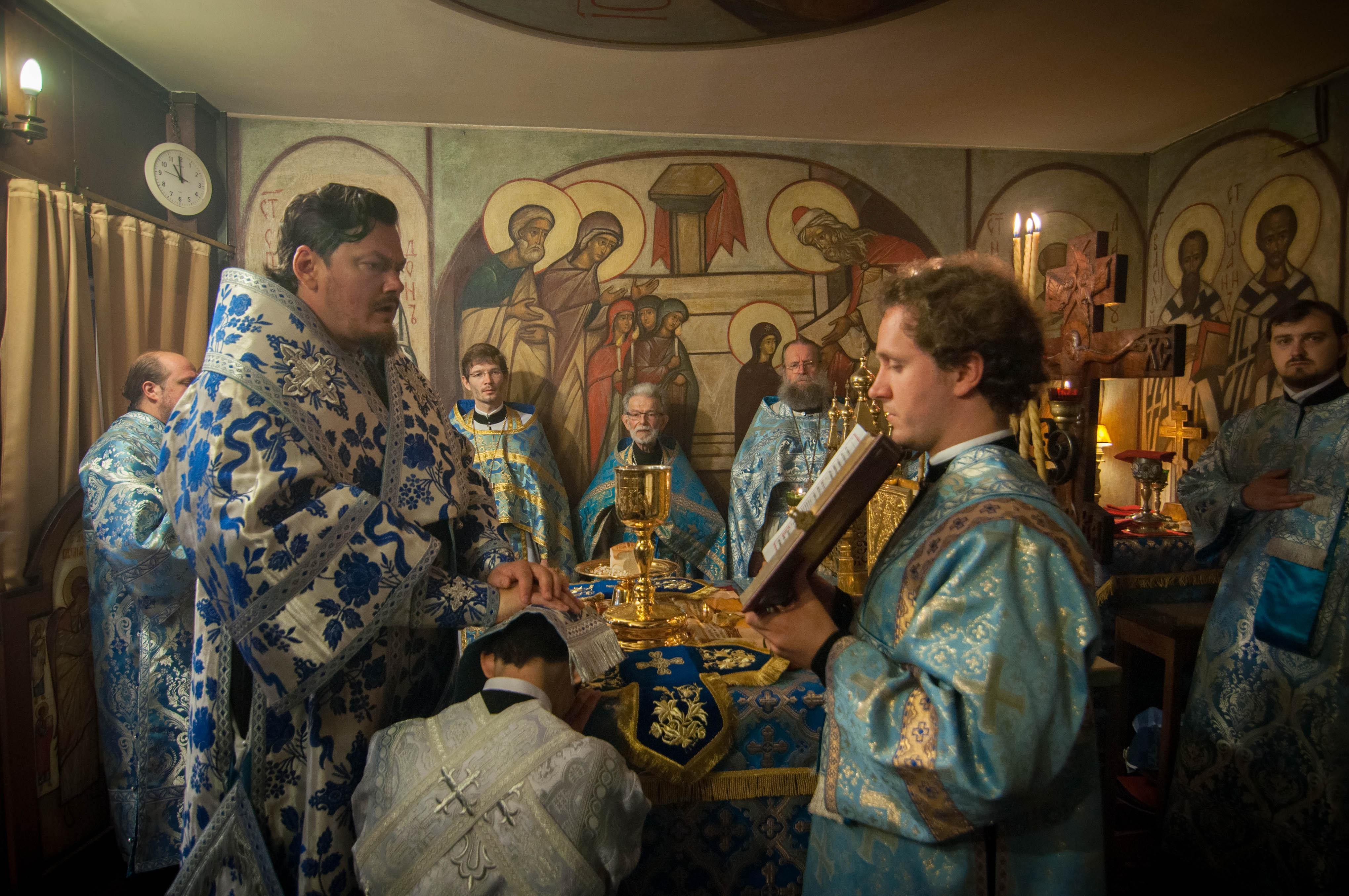 Festivités du 5e anniversaire de l'ordination épiscopale de Mgr Nestor et ordination diaconale à Paris