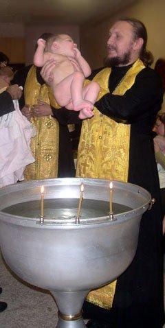 Le diocèse de Nijni-Novgorod restaure la tradition des liturgies baptismales
