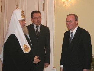 Patriarche Alexis: Le christianisme peut renforcer les liens entre l'Union européenne et la Russie