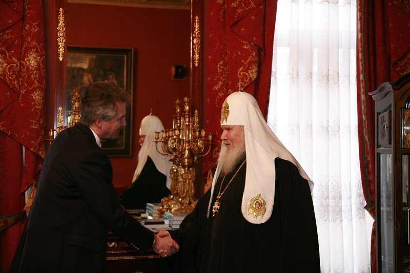 L'ambassadeur des USA en Russie a rendu visite au patriarche Alexis