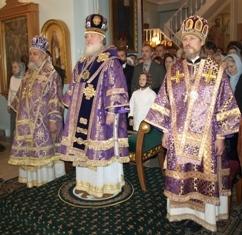 Le métropolite Cyrille a présidé une liturgie dans la représentation du patriarcat d'Antioche à Moscou