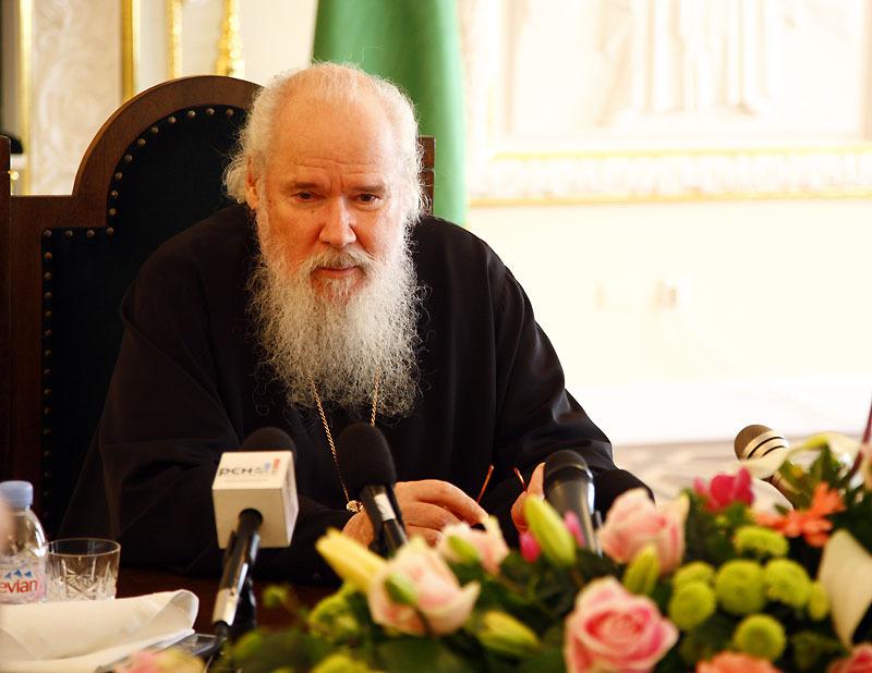 Patriarche Alexis: 'L'unité de l'Eglise sera le principal sujet du prochain concile épiscopal'