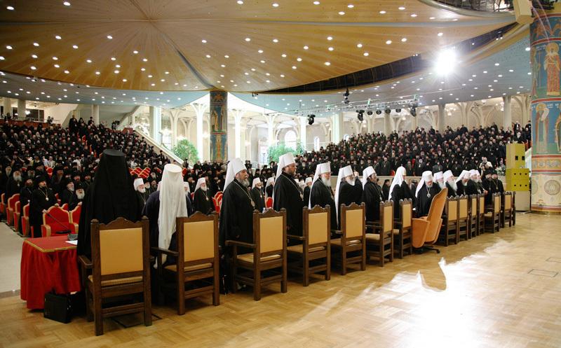 Ouverture à Moscou du concile épiscopal de l'Eglise orthodoxe russe